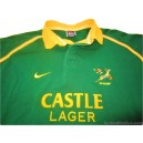 2001-03 South Africa Springboks Pro Home Shirt