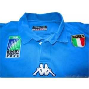 2003 Italy 'World Cup' Pro Home Shirt