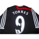 2007-08 Liverpool Torres 9 Third Shirt