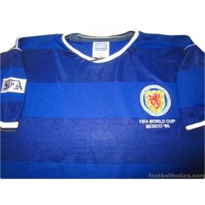 1986 Scotland 'World Cup' Retro Home Shirt