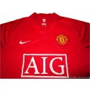 2007-09 Manchester United Home Shirt