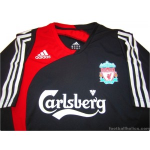 2007-08 Liverpool Training Shirt