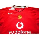 2004-06 Manchester United Home Shirt