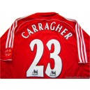 2006-08 Liverpool Carragher 23 Home Shirt