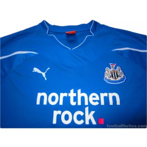 2010-11 Newcastle United Away Shirt