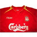 2005-06 Liverpool Champions League Home Shirt