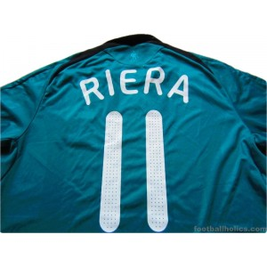 2008-09 Liverpool Riera 11 Champions League Third Shirt