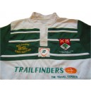 2008-09 Ealing Trailfinders Player Issue Home Shirt