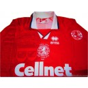 1997 Middlesbrough 'Coca Cola Cup Finalists' Home Shirt