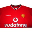 2000-02 Manchester United Home Shirt