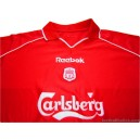 2000-02 Liverpool Home Shirt