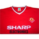 1983 Manchester United 'FA Cup Winners' Retro Home Shirt