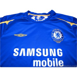 2005-06 Chelsea Centenary Home Shirt