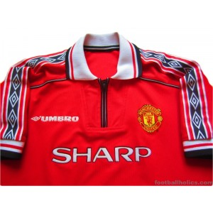 1998-2000 Manchester United Home Shirt