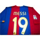 2006-07 FC Barcelona Messi 19 Home Shirt