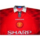 1996-98 Manchester United Home Shirt
