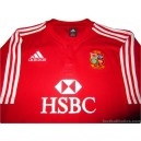 2009 British Lions 'South Africa' Pro Home Shirt