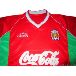 2000-02 Mexico Player Issue Training Shirt
