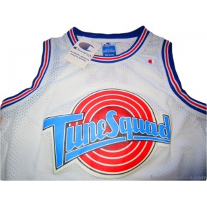 09c03a152 1996 Tune Squad  Space Jam  Taz ! Jersey Looney Tunes v Monstars ...