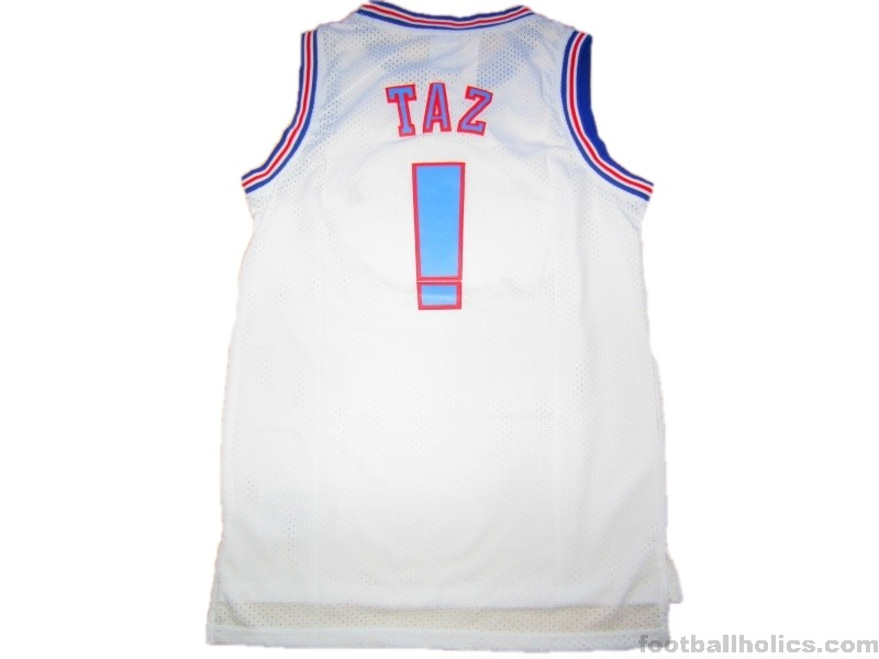290cabcd4 ... 1996 Tune Squad  Space Jam  Taz ! Looney Tunes Jersey v Monstars ...