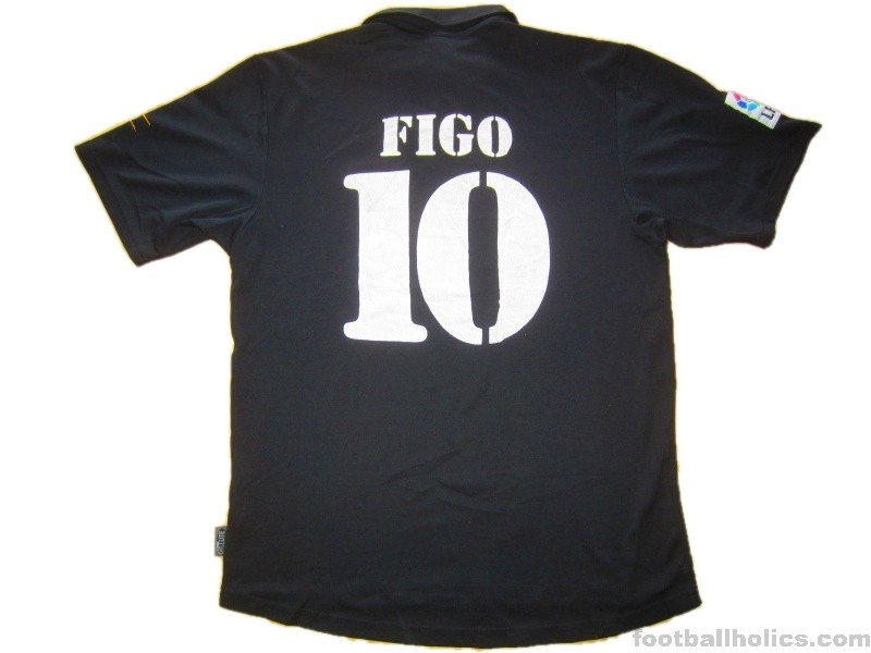 f9e1ad117dd 2001-02 Real Madrid Figo 10 Centenary Away Shirt - Footballholics.com