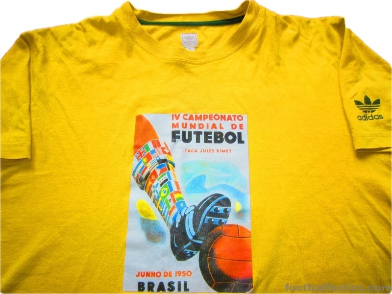 brand new abbb6 0b01f 1950 World Cup 'Brazil' T-Shirt - Footballholics.com