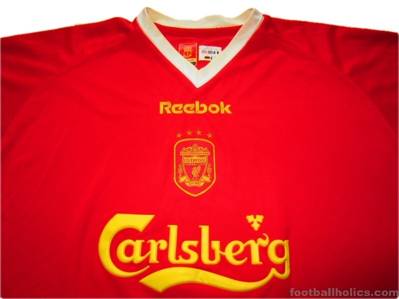 cheap for discount 99e3f 94e00 2001-03 Liverpool European Shirt - Footballholics.com