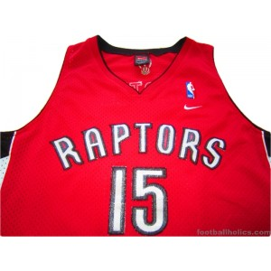 separation shoes 072f2 7b3aa 2003-04 Toronto Raptors Carter 15 Alternate Jersey ...
